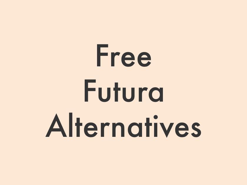 Download Futura Typeface Free - treehouses
