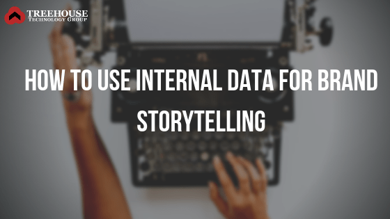 How to Use Internal Data for Brand Storytelling graphic