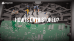 how is data stored
