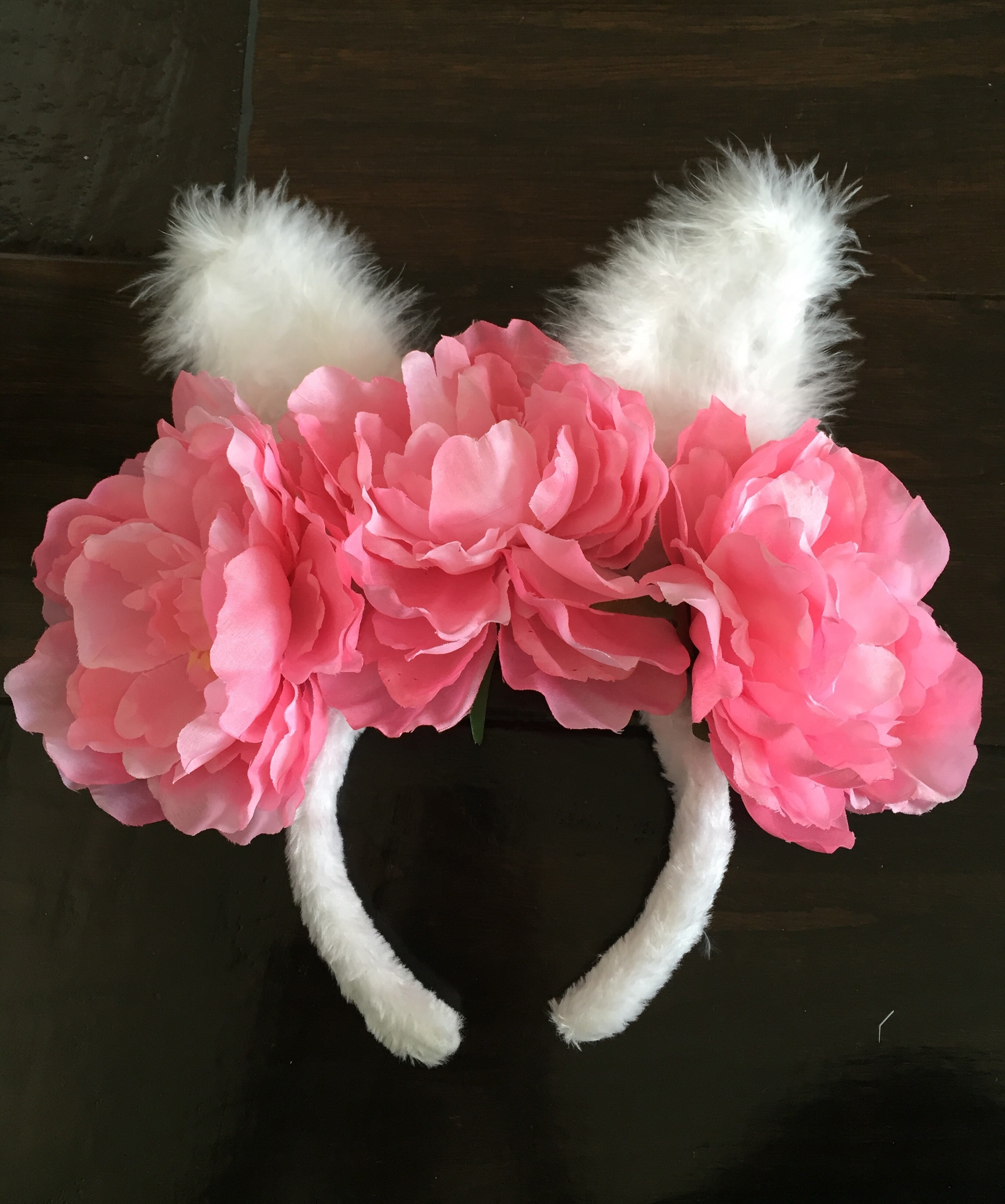 Diy Bunny Ear Flower Crown Treehouse Threads