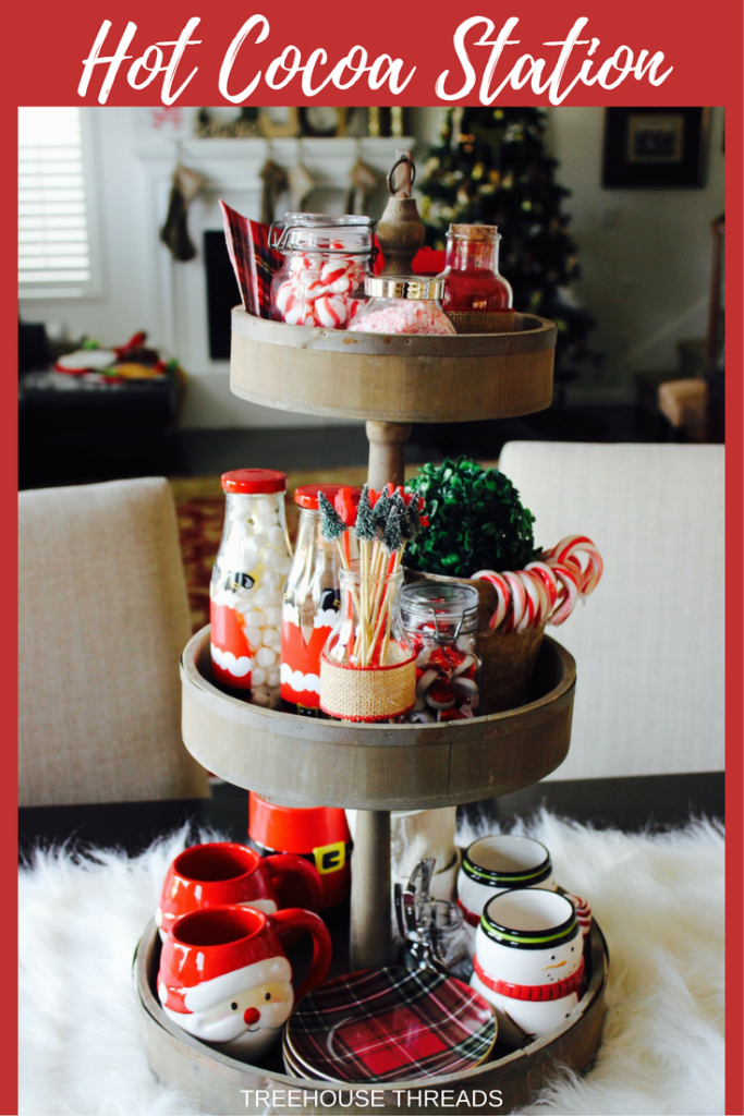 Hot Cocoa Station Treehouse Threads