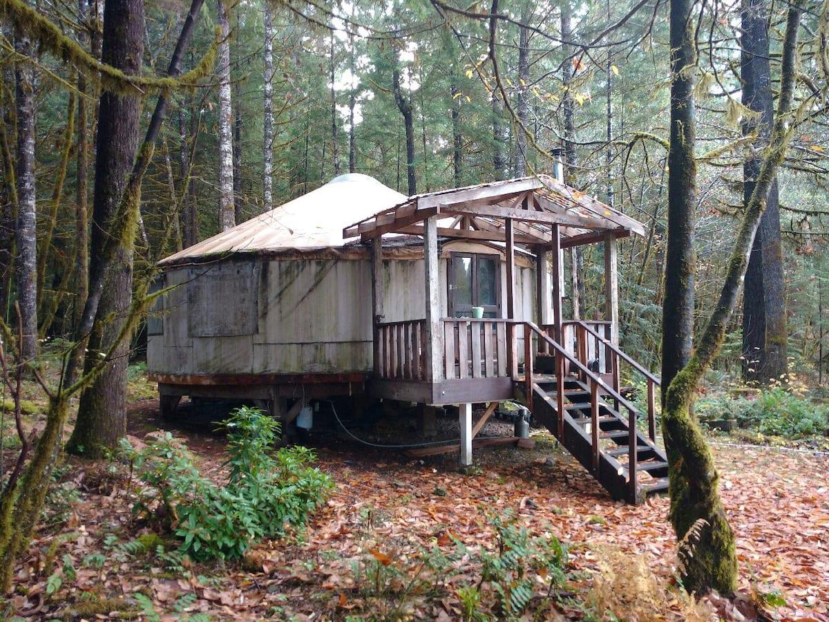 Celestial Yurt at Tired Dog Ranch