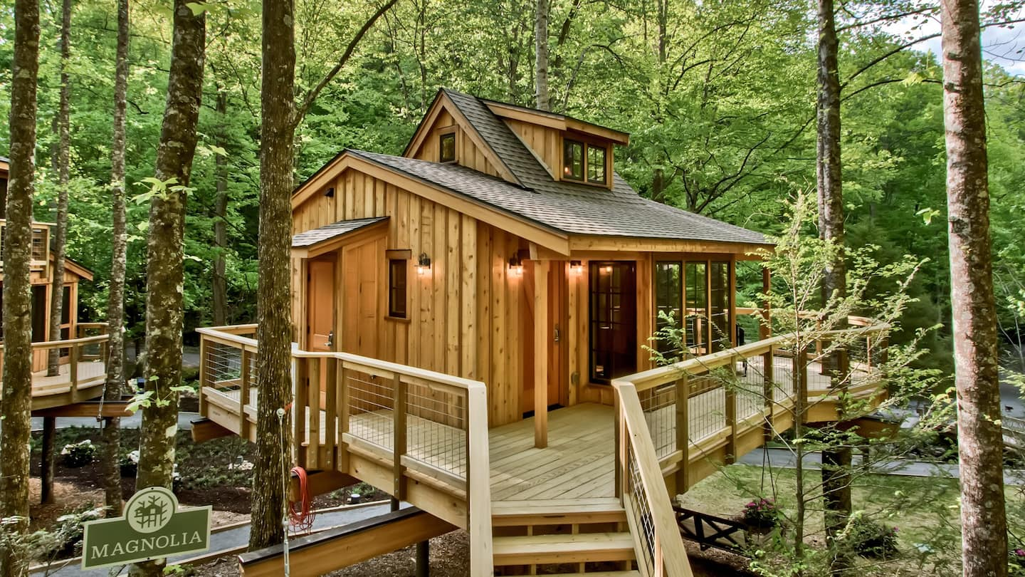 The Magnolia in Treehouse Grove at Norton Creek, Tennessee
