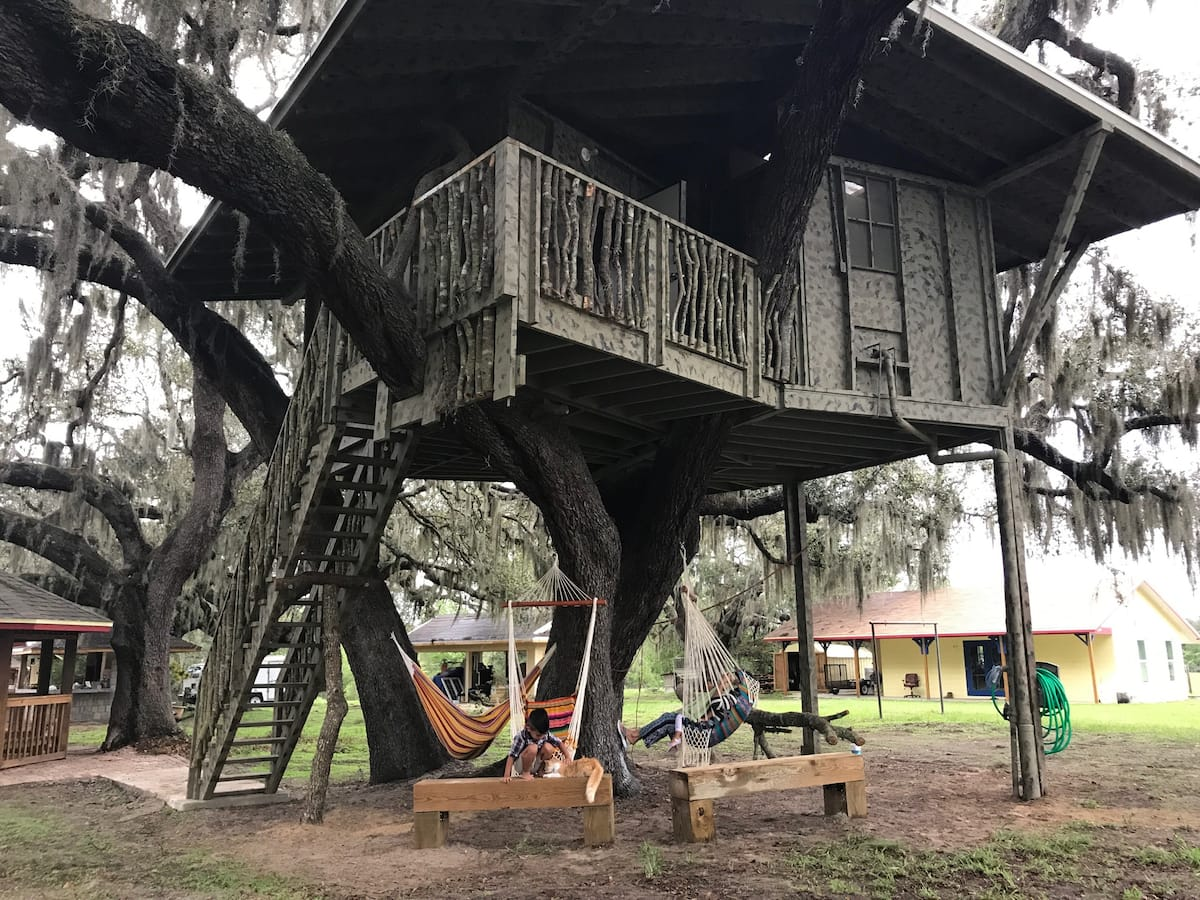 Disney Themed Treehouse in Florida