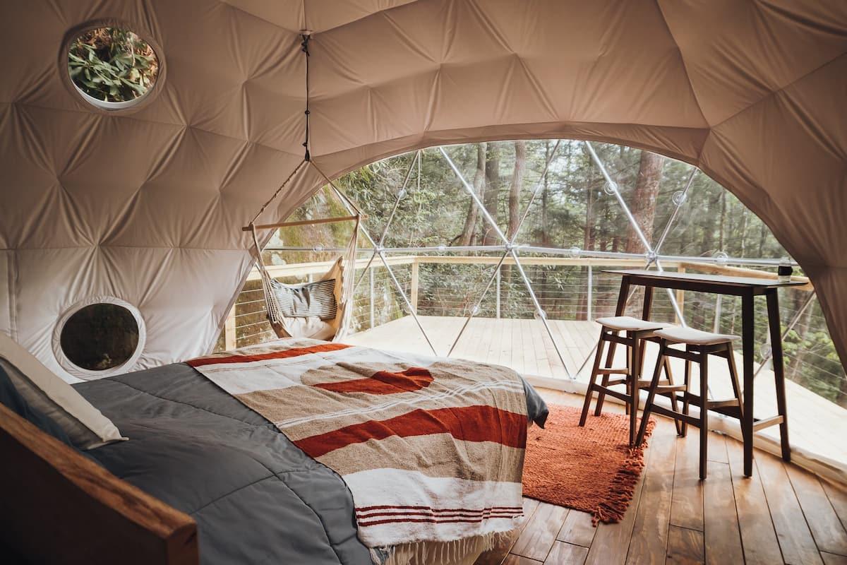 Turtle Dome Treehouse Rental Kentucky
