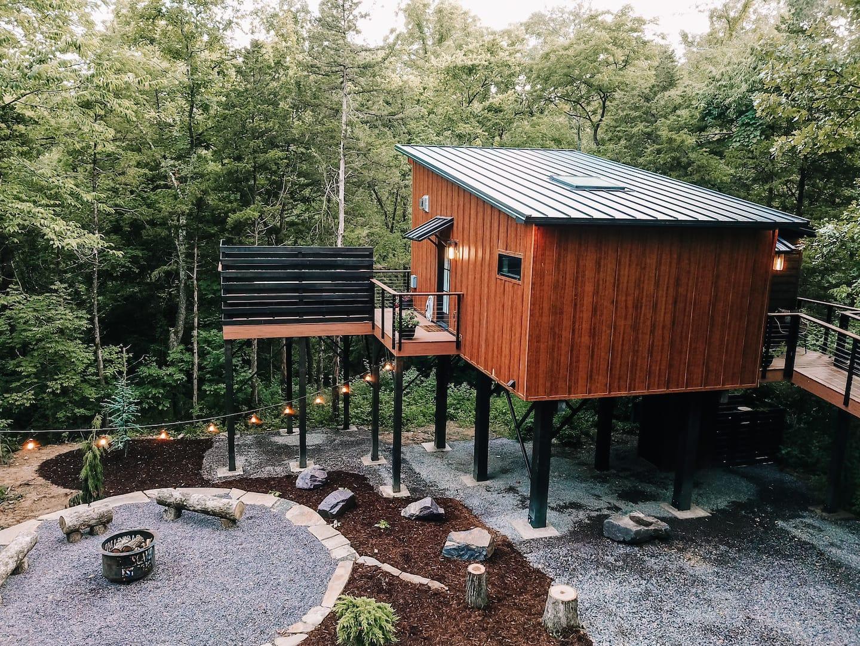 TreeLoft - Treehouses in Missouri Airbnb