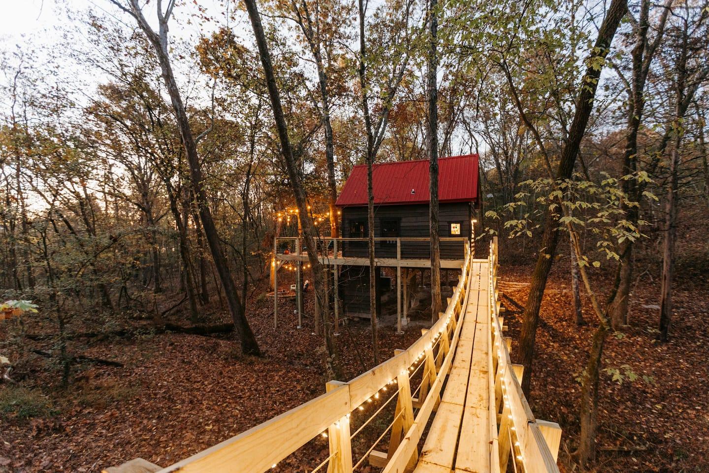 treehouse rentals missouri