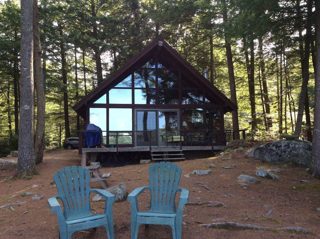 A Frame Cabin Treehouse New Hampshire