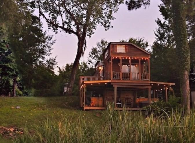 Bayou Breeze Louisiana Tree house Rental