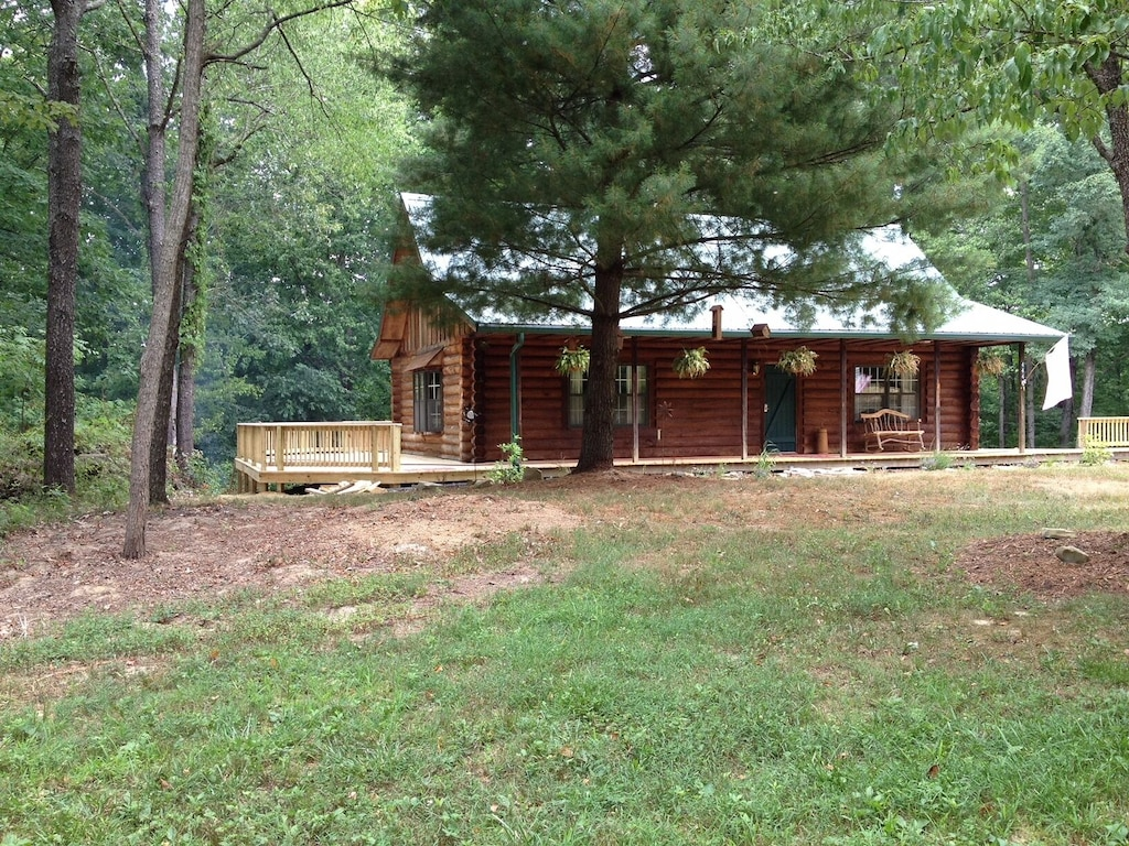 Cider Cabin Treehouse Indiana