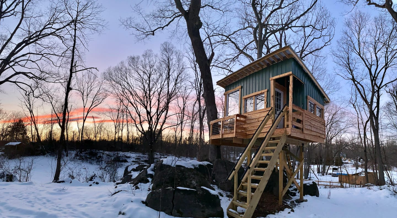 Cozy West Virginia Treehouse Rental Airbnb