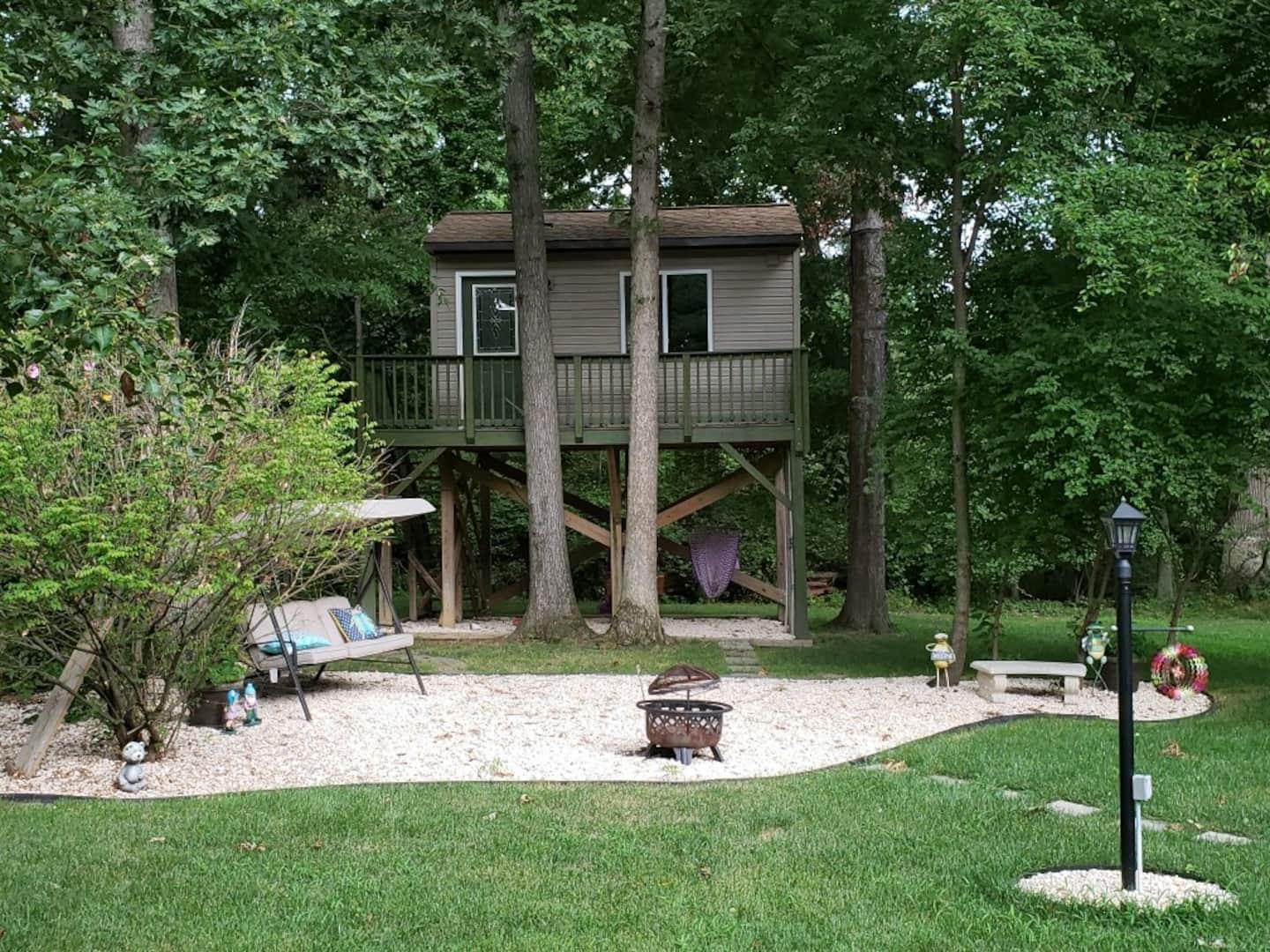 Custom Built Treehouse in Perry Hall, Maryland