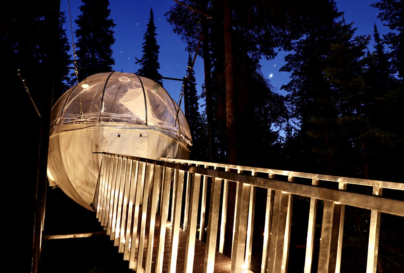 Luna Dome – Treehouse Tent Cocoons
