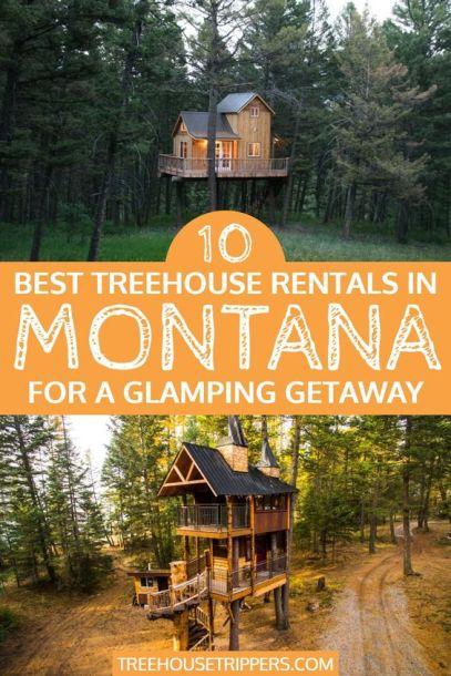 Montana Treehouse Rentals pinterest