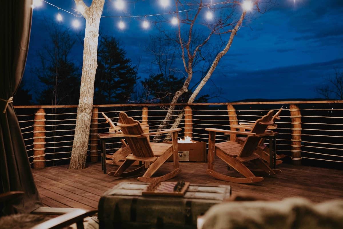 Mountaintop Luxury Georgia Treehouse at Selah Ridge