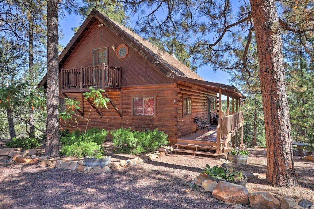 Rustin Cabin Tree House Rental Arizona