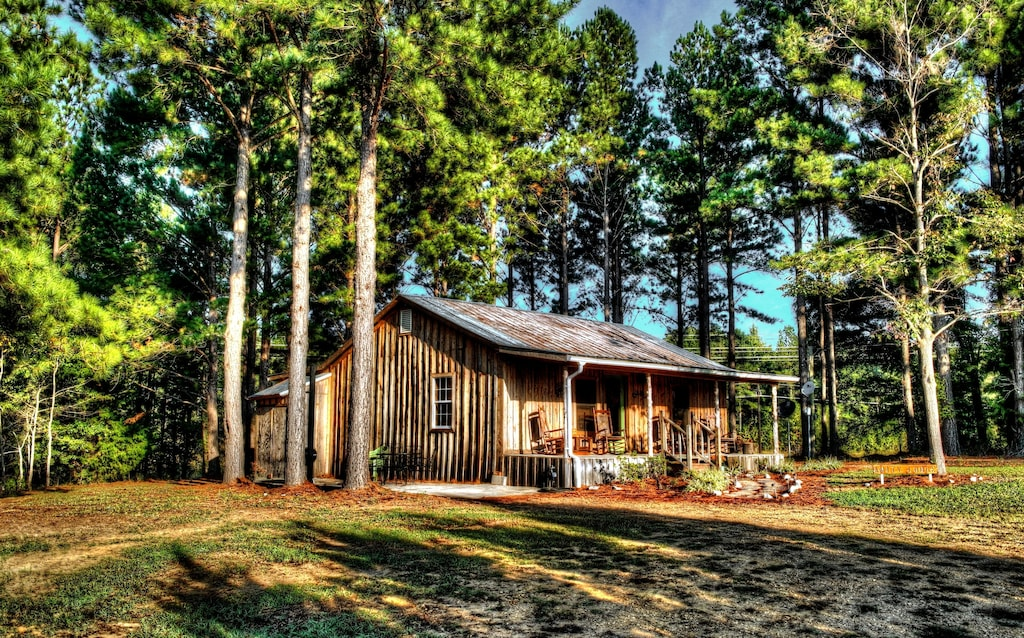 Seclued Amity Cabin Rental in Mississippi