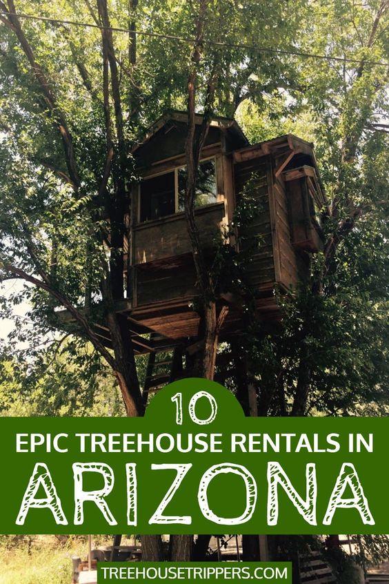 Treehouse Rentals in ArizonaTreehouse Rentals in Arizona