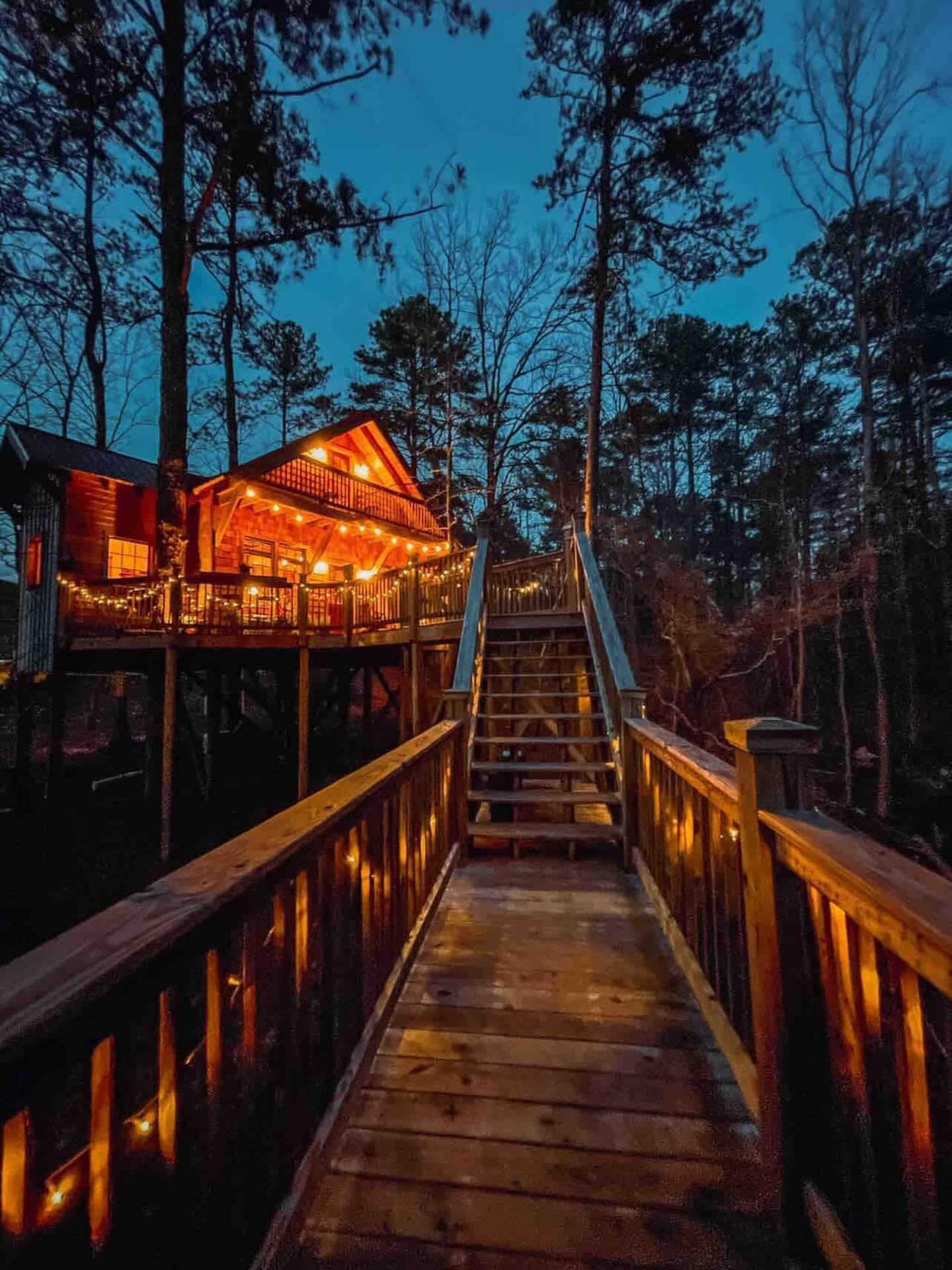 Trinity Treehouse Rentals Georgia