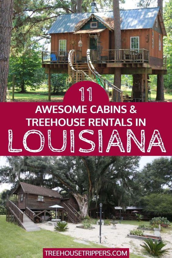 treehouse rentals louisiana
