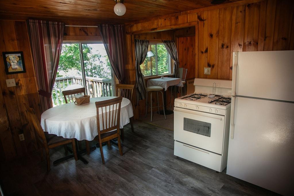 Lakefront Pet Friendly Treehouse Cabin in Minnesota