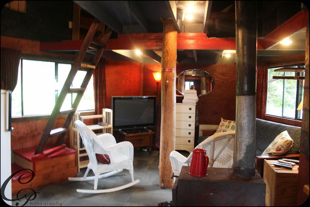 Adordable Tree House Alaska VRBO