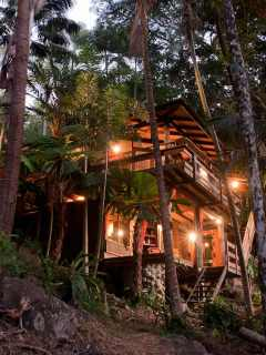 Currumbin Rainforest Tree House Rental Australia