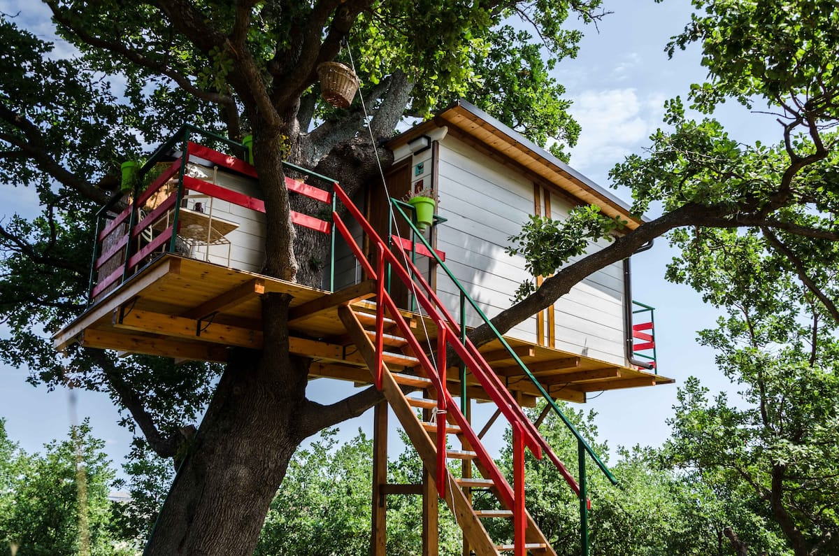 Treehouse Rental Airbnb in Italy