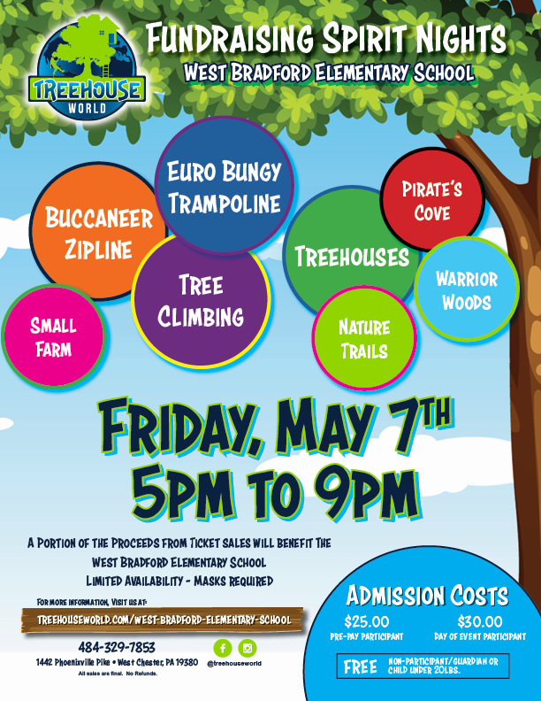 Fundraiser Event Flyer_West Bradford Elementary