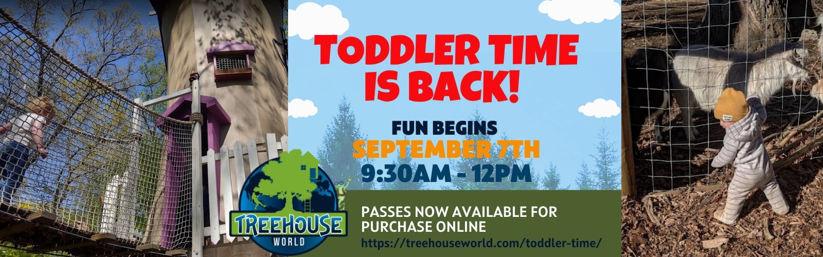 Toddler Time 2021 - Treehouse World