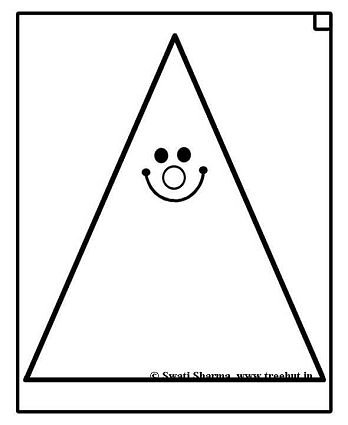 Triangle Instrument Coloring Page. percussion coloring pages ...