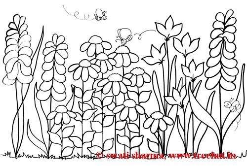 garden coloring page # 11