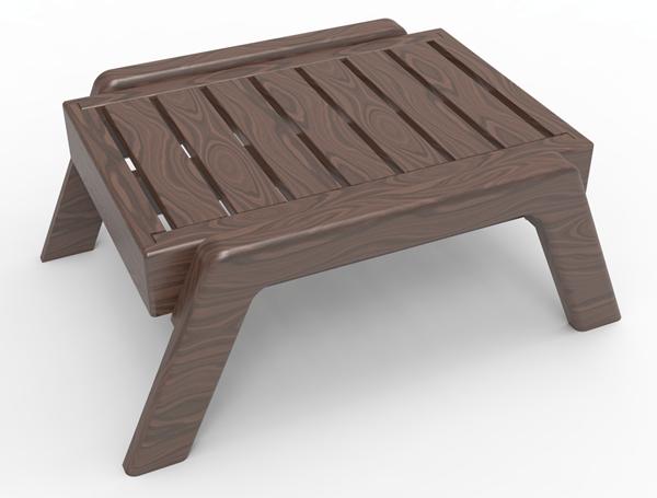 New Design for Yoga Bench
