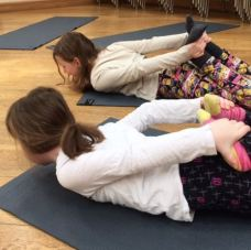 children yoga family school mindfulness