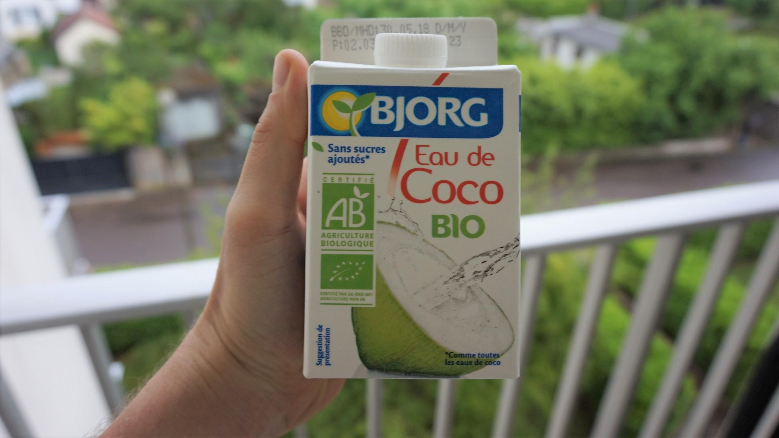 L'eau de coco, une boisson idéale pour le sportif ?