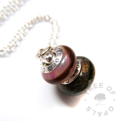 charm duo double charm necklace