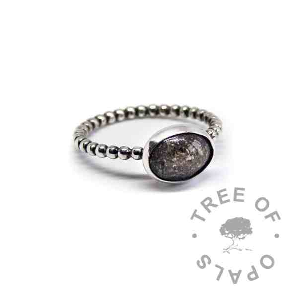 classic ring bubble wire natural dark ask
