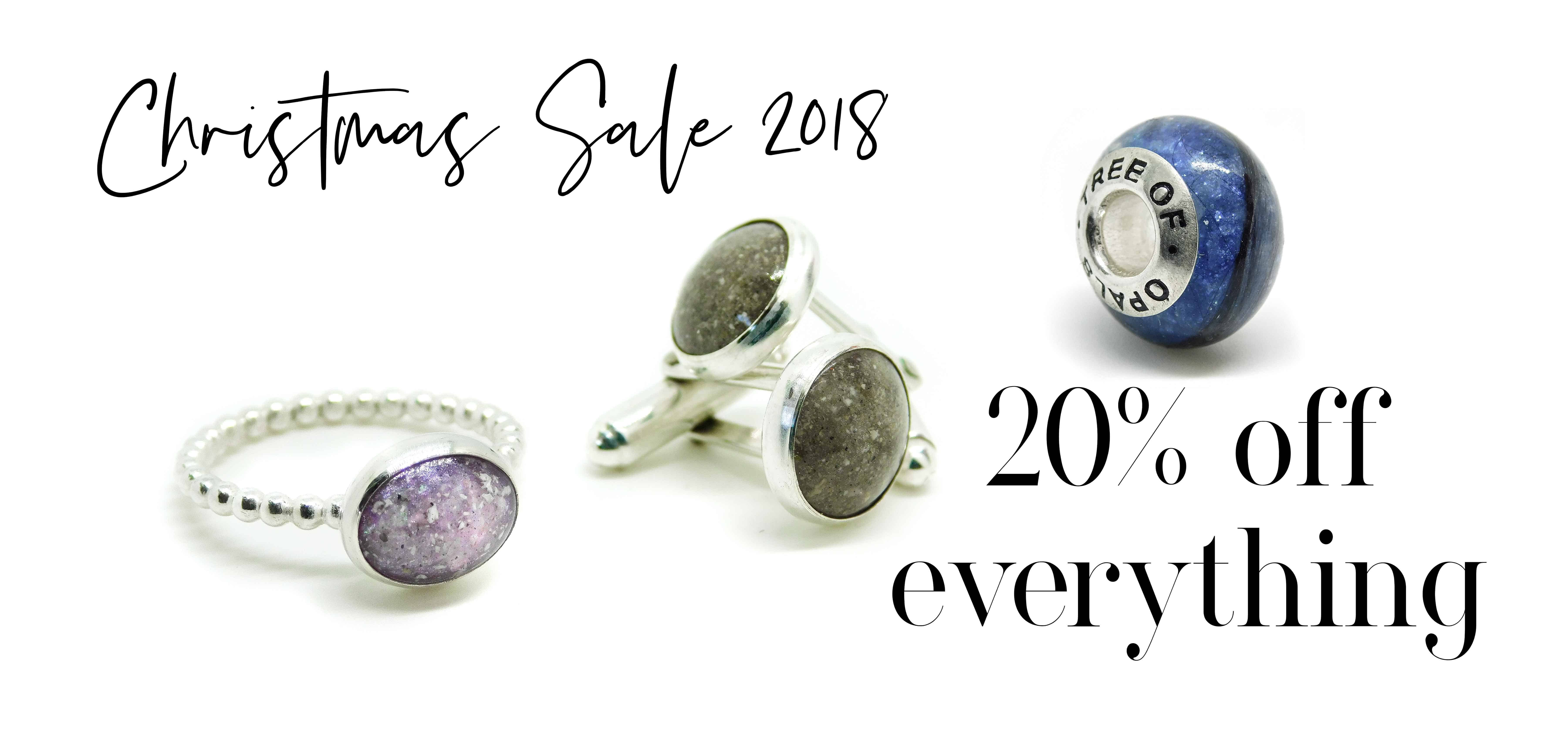 Christmas sale 2018 memorial jewellery