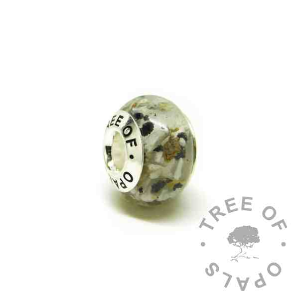 classic ashes charm with Tree of Opals core