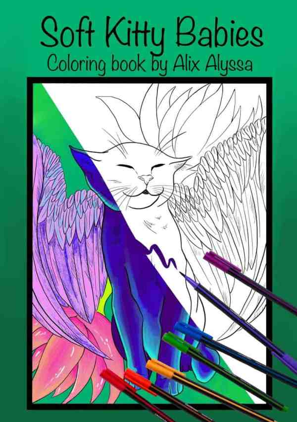 Soft Kitty Babies Coloring Book - Physical Copy