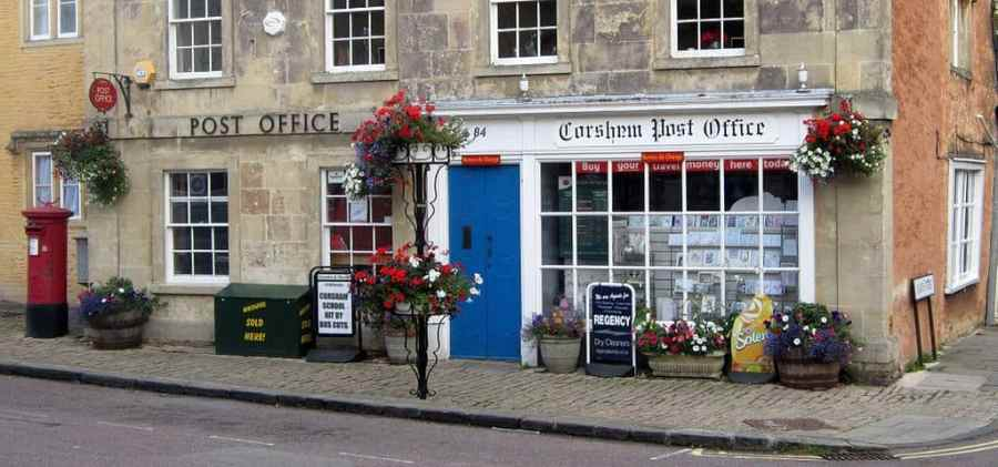Corsham_Post_Office recorded v special delivery