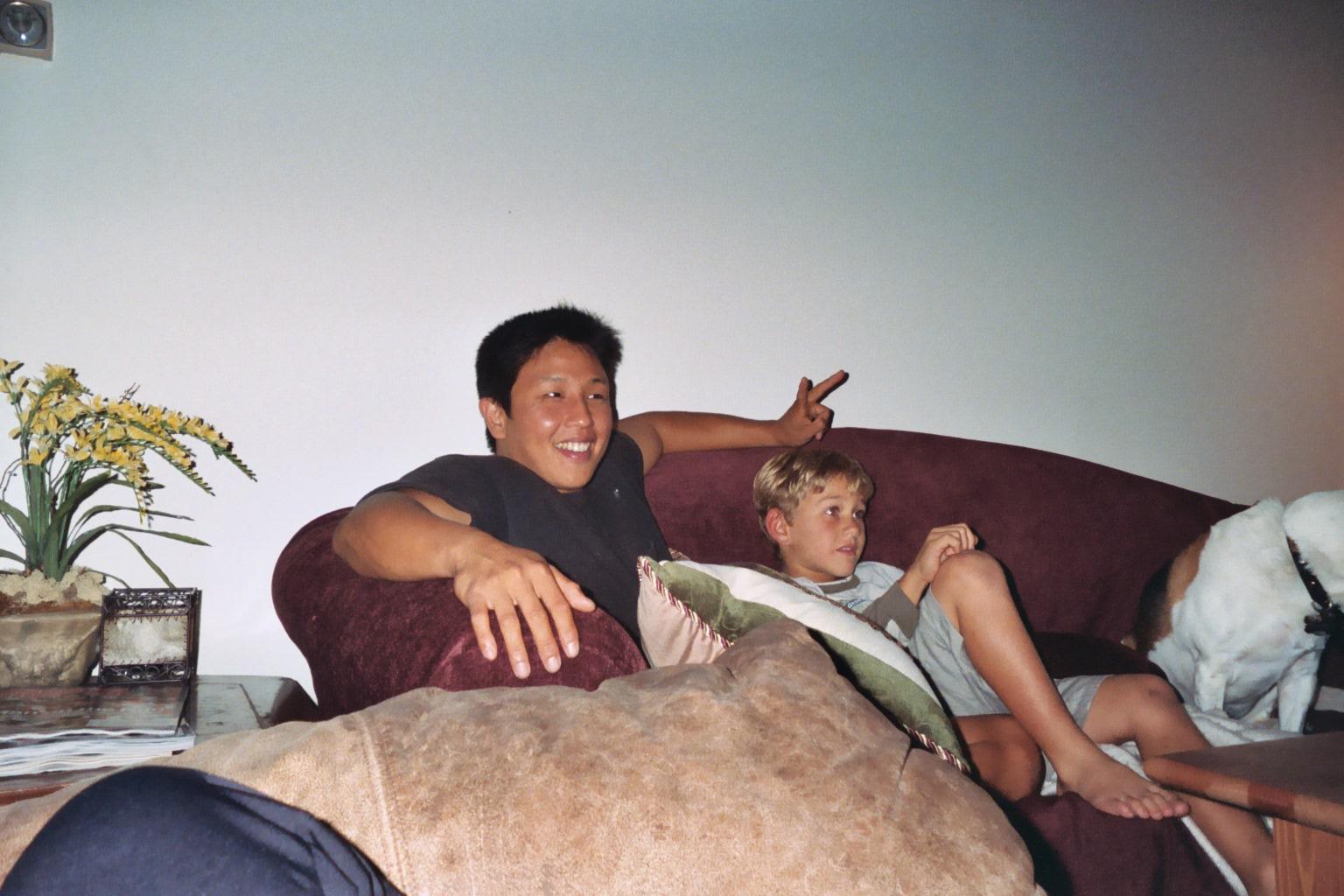 Sweet Prince and Sports Boy Feb 2004