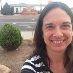 """I was standing on a corner in Winslow, Arizona...."""