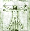 Vitruvian Man: I included this image of Leonardo da Vinci's Vitruvian Man image in a blog entry called New Beginnings. Since my earlier Adrenal Burnout entry had used the Vitruvian Man with a frowny face, I used this as a way of establishing continuity with the previous