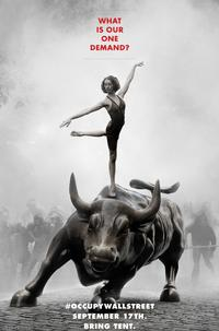Adbusters Occupy Wall Street Poster: This Occupy Wall Street poster from AdBusters was a part of the early Internet buzz that helped make Occupy Wall Street a reality.