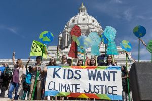 """Kids Want Climate Justice"" by Lorie Shaull"