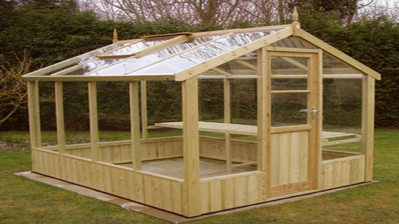 Greenhouse Plans Wood Frame Wood Greenhouse Plans, Wood