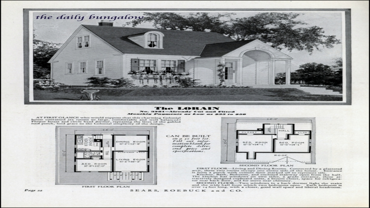 Showing The 6 Photos Of 1930s House Plans, 1930s House