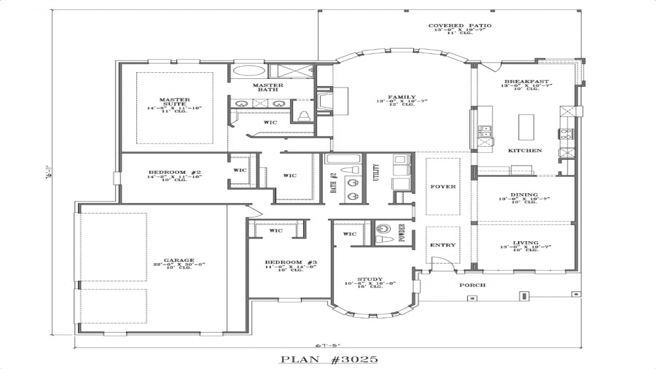 Best One Story House Plans One Story House Plans, House