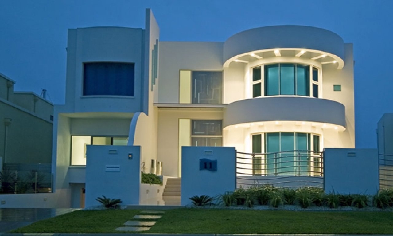 Art Deco Modern House Plans Art Deco Modern House Design